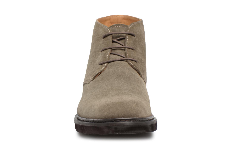Stiefeletten & Boots Geox U DAMOCLE B grau schuhe getragen