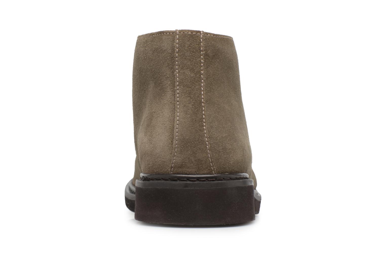 Stiefeletten & Boots Geox U DAMOCLE B grau ansicht von rechts