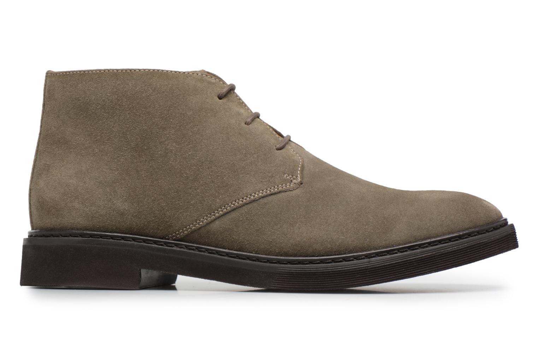Stiefeletten & Boots Geox U DAMOCLE B grau ansicht von hinten