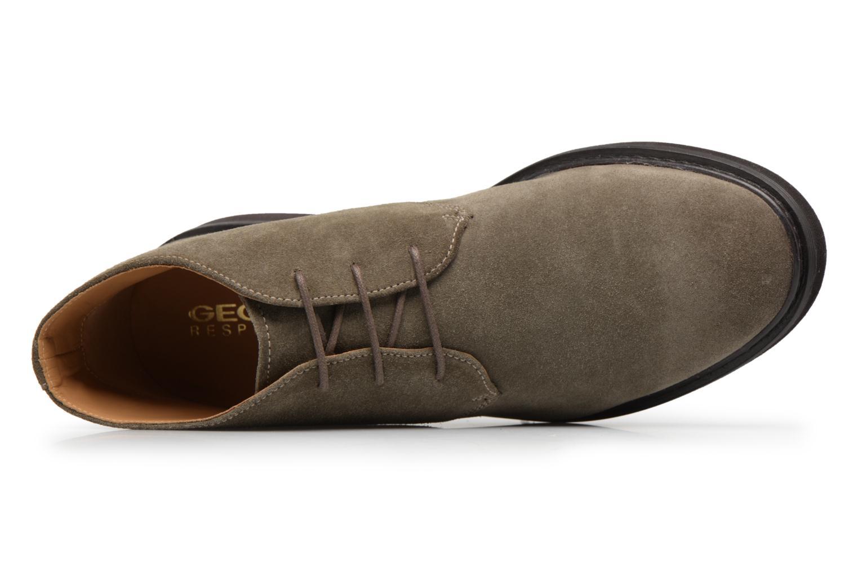 Stiefeletten & Boots Geox U DAMOCLE B grau ansicht von links