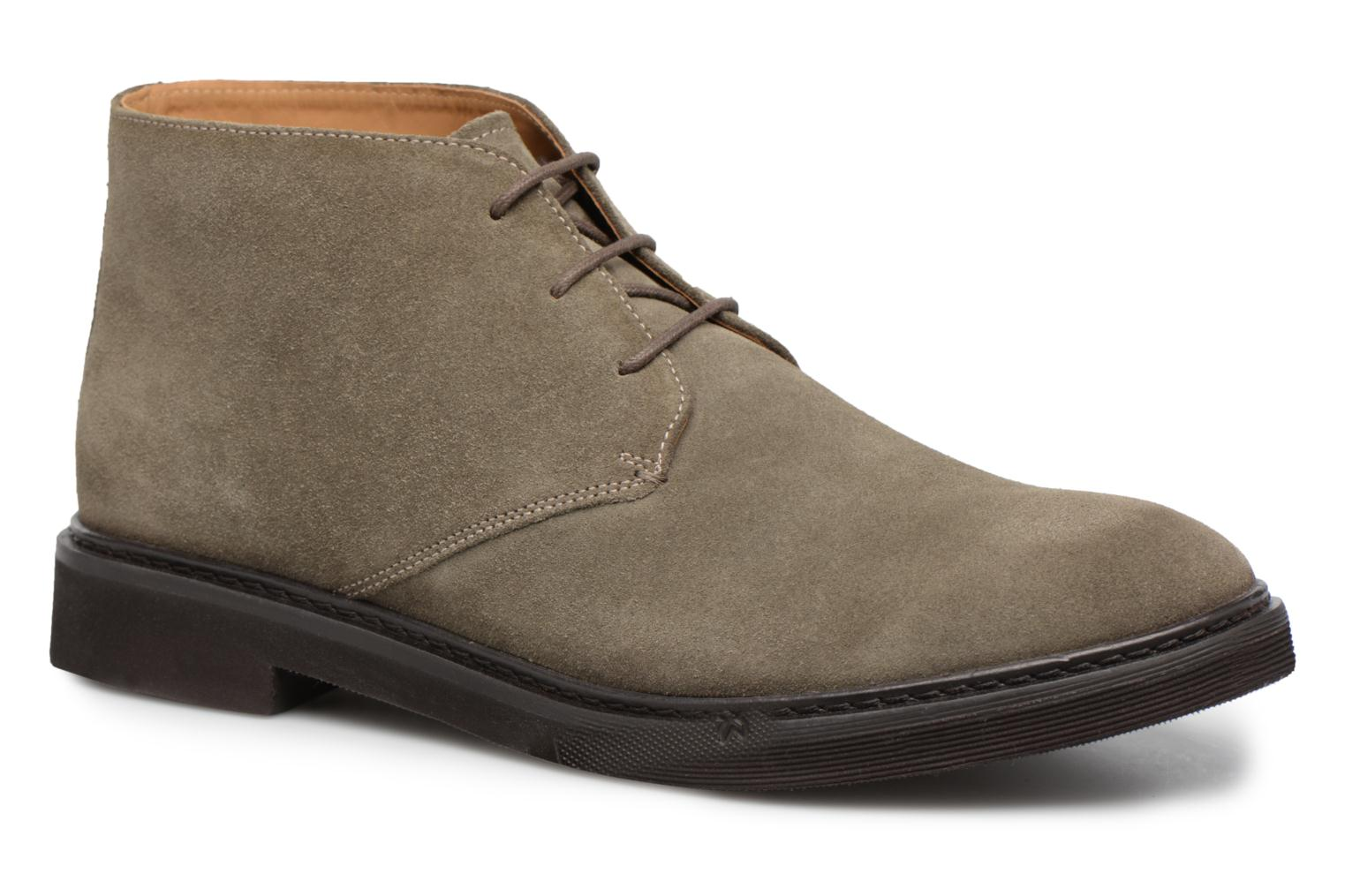 Ankle boots Geox U DAMOCLE B Grey detailed view/ Pair view