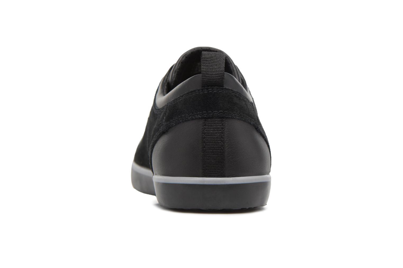 Sneaker Geox U SMART A U74X2A schwarz ansicht von rechts
