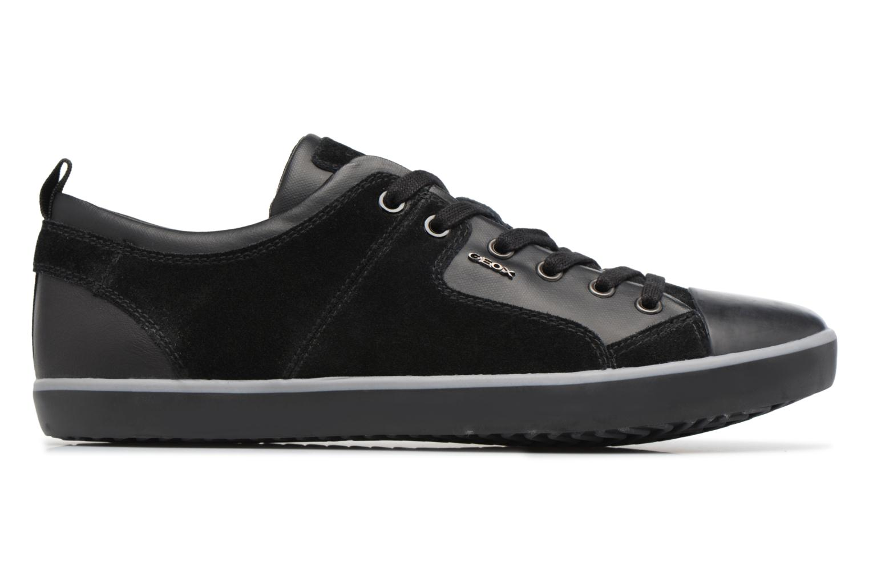 Sneaker Geox U SMART A U74X2A schwarz ansicht von hinten