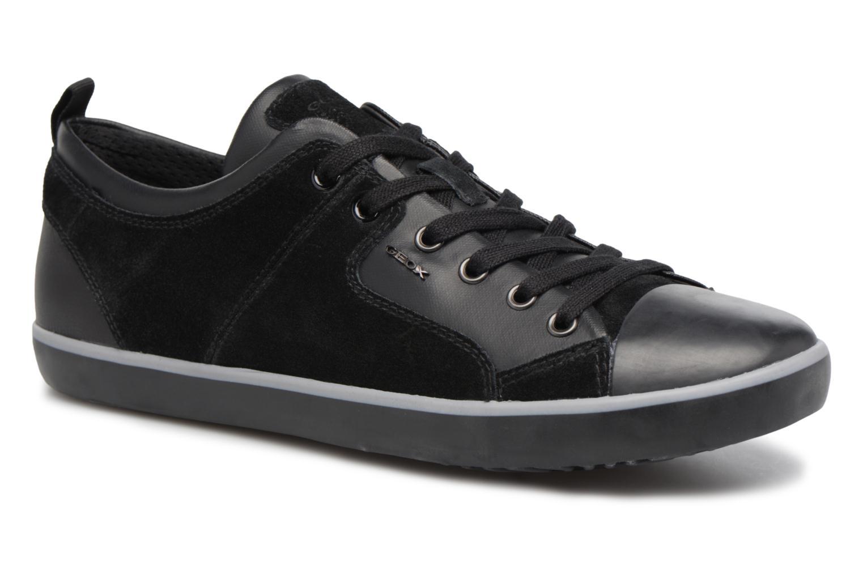 Sneaker Geox U SMART A U74X2A schwarz detaillierte ansicht/modell