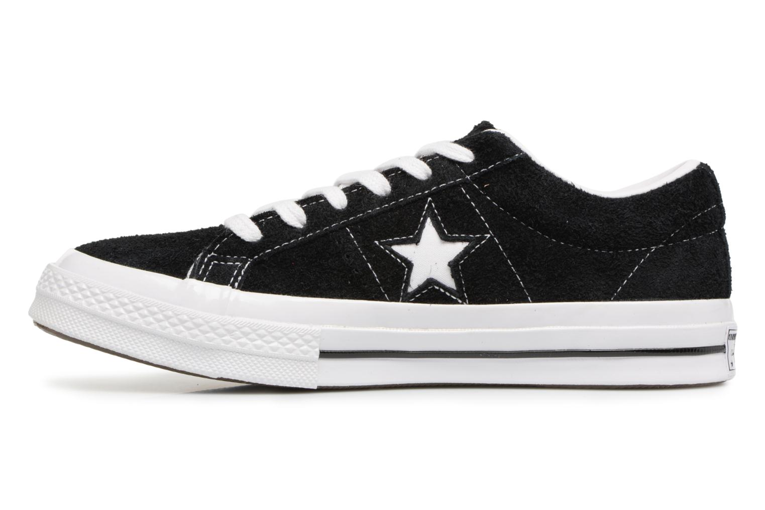 Baskets Converse One Star OG Suede Ox W Noir vue face
