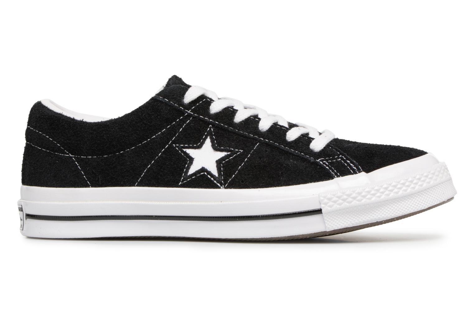 BLACK/WHITE/WHITE Converse One Star OG Suede Ox W (Noir)