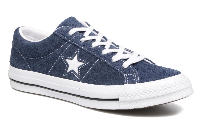 Converse One Star OG Suede Ox Azul fcvhR