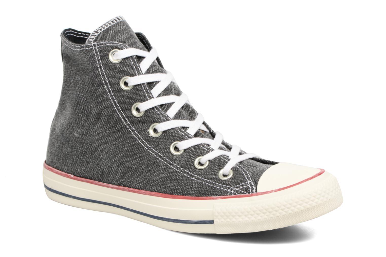 Zapatos promocionales Converse Chuck Taylor All Star Stone Wash Hi W (Negro) - Deportivas   Descuento de la marca