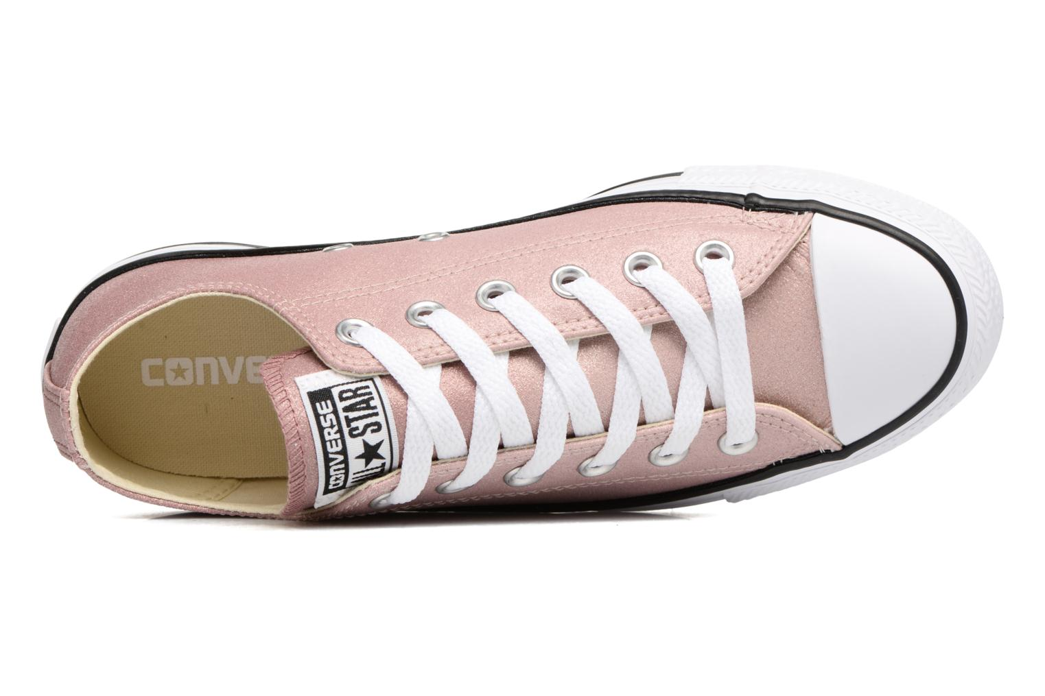 Baskets Converse Chuck Taylor All Star Ombre Metallic Ox Rose vue gauche