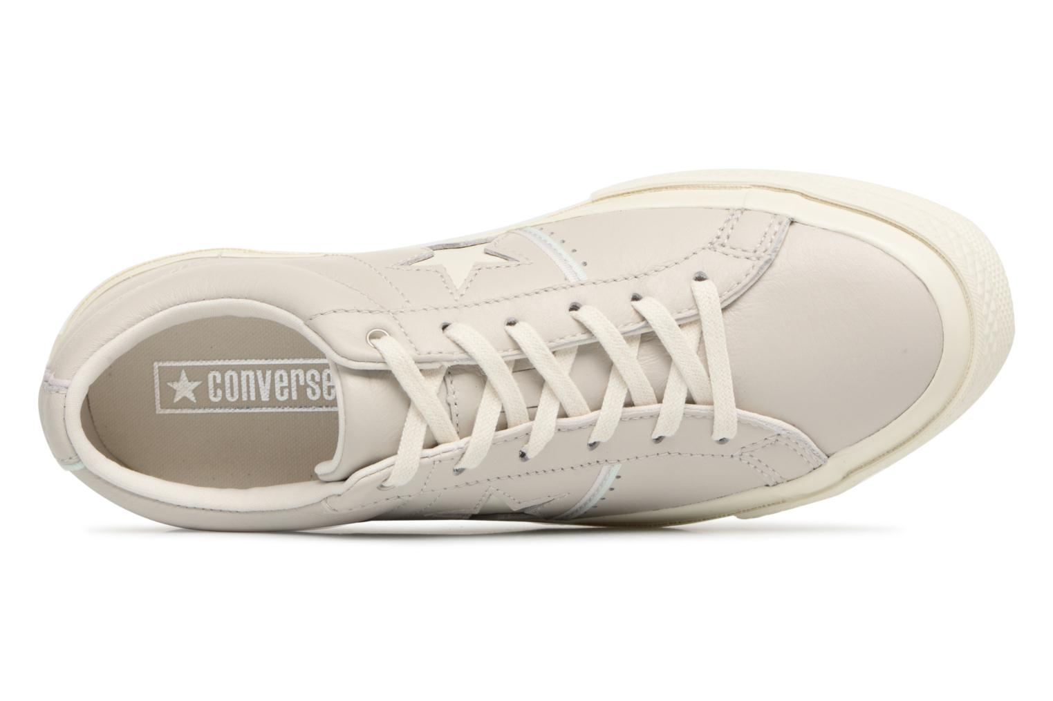 Baskets Converse One Star Piping Pack Ox W Gris vue gauche