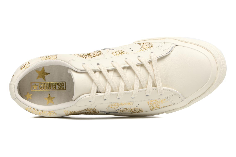 One Star Converse Wordmark Ox Egret/Gold/Egret
