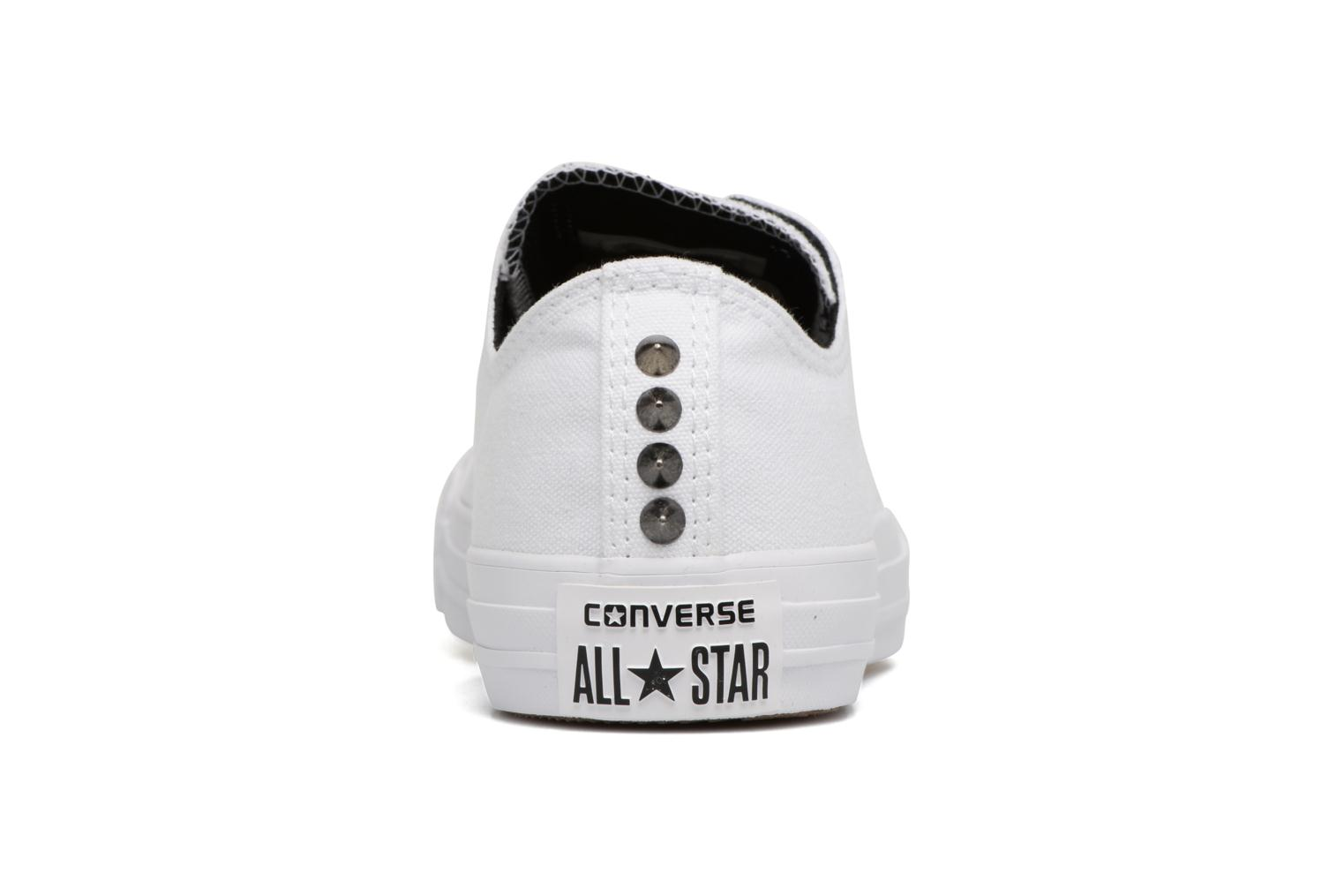 Chuck Taylor All Star Canvas + Studs Ox White/Black/White