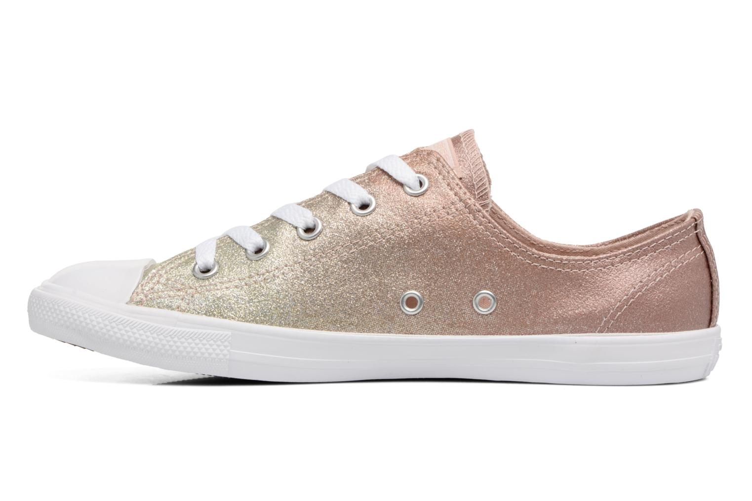 Baskets Converse Chuck Taylor All Star Dainty Ombre Metallic Ox Gris vue face