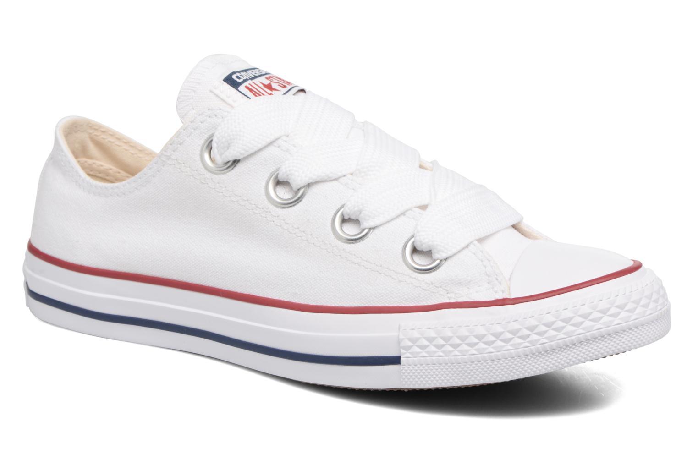 Zapatos de hombre y mujer de promoción por tiempo limitado Converse Chuck Taylor All Star Big Eyelets Ox (Blanco) - Deportivas en Más cómodo