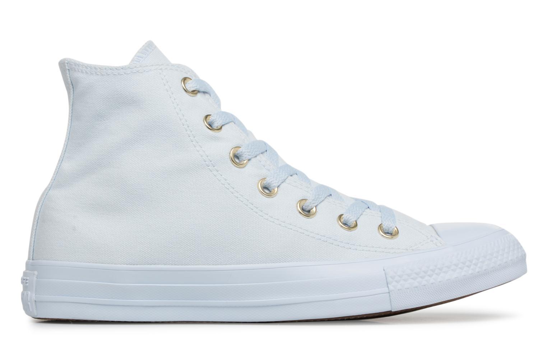 Egret/Egret/Gold Converse Chuck Taylor All Star Mono Glam Canvas Color Hi W (Blanc)