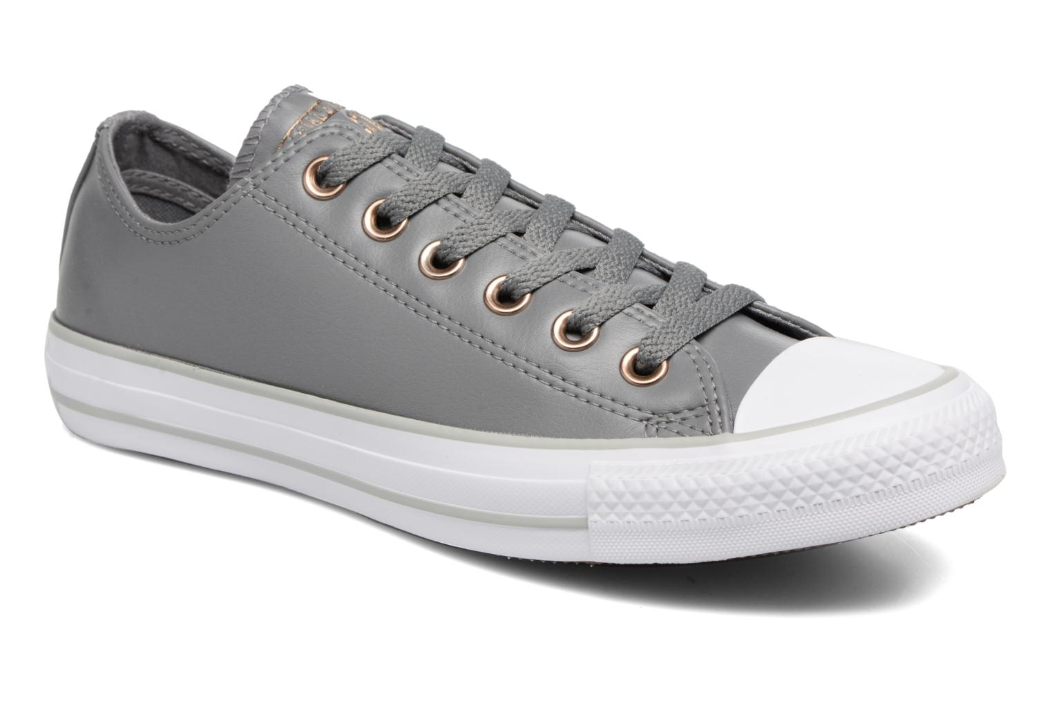 Converse Chuck Taylor All Star Craft SL Ox (Gris) - Baskets chez Sarenza (324674)
