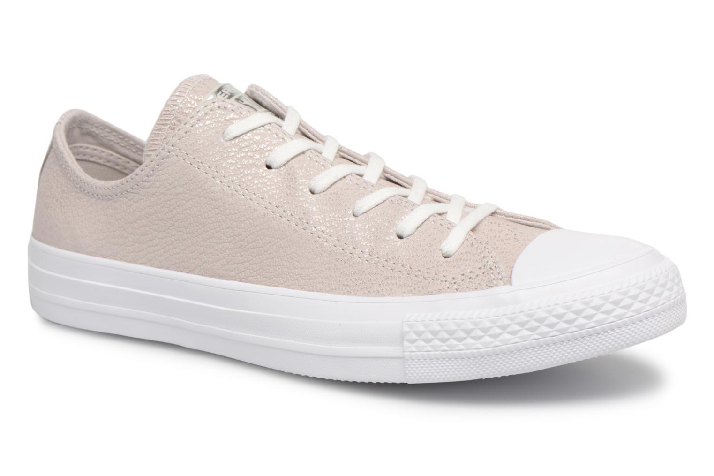Nuevos zapatos para hombres y mujeres, descuento por tiempo limitado Converse Chuck Taylor All Star Tipped Metallic Ox (Gris) - Deportivas en Más cómodo