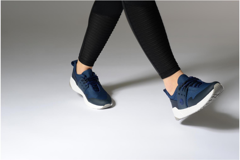 Sneaker Timberland Kiri New Lace Oxford blau ansicht von unten / tasche getragen