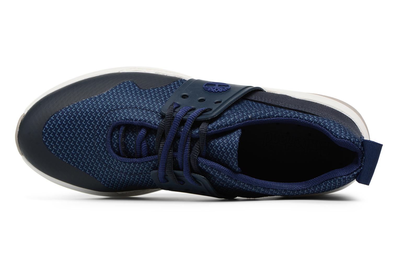 Sneaker Timberland Kiri New Lace Oxford blau ansicht von links