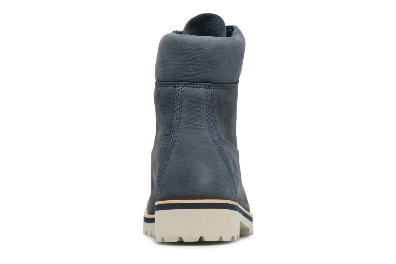 "Bottines et boots Timberland Chilmark 6"" Boot Bleu vue droite"