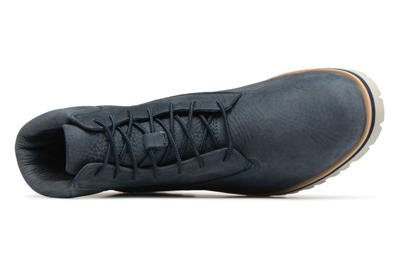 """Bottines et boots Timberland Chilmark 6"""" Boot Bleu vue gauche"""