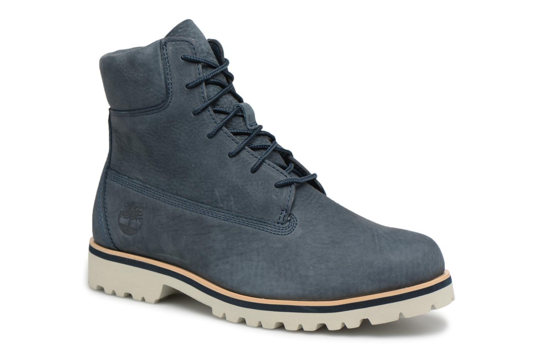 """Bottines et boots Timberland Chilmark 6"""" Boot Bleu vue détail/paire"""