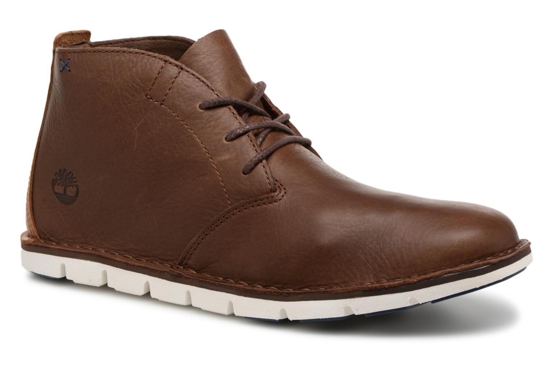 Stiefeletten & Boots Timberland Tidelands Desert Boot braun detaillierte ansicht/modell