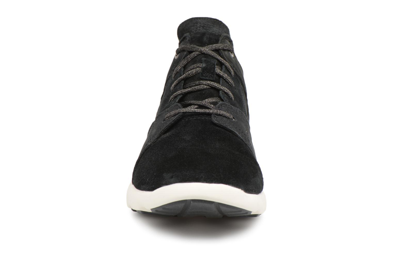 Sneaker Timberland FlyRoam Leather Oxford schwarz schuhe getragen