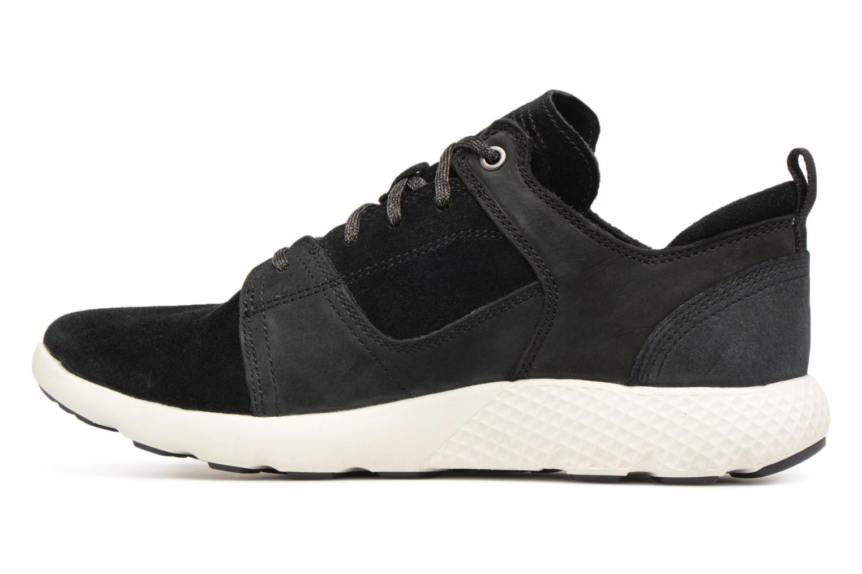 Sneaker Timberland FlyRoam Leather Oxford schwarz ansicht von vorne