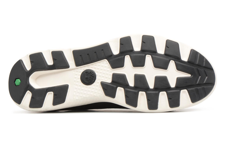 Sneaker Timberland FlyRoam Leather Oxford schwarz ansicht von oben