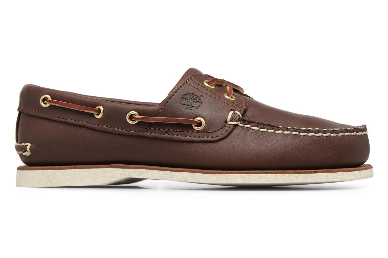 Chaussures à lacets Timberland MEN'S 2 EYE BOAT SHOE Marron vue derrière
