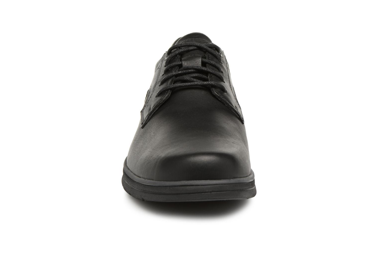 Schnürschuhe Timberland Bradstreet Padded Collar schwarz schuhe getragen