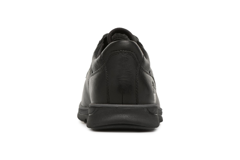 Chaussures à lacets Timberland Bradstreet Padded Collar Noir vue droite