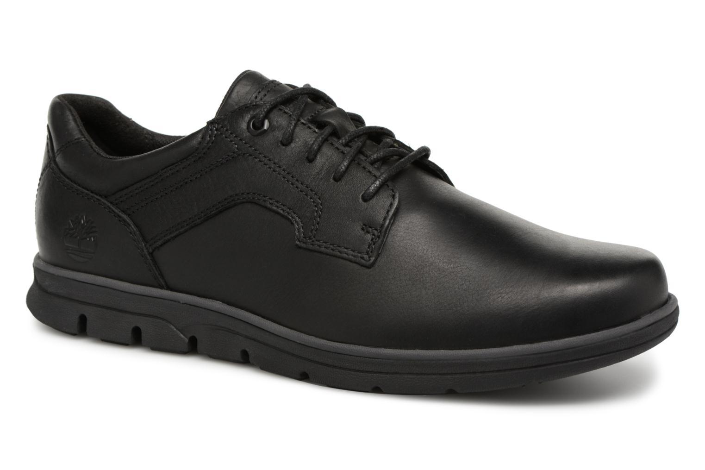 Chaussures à lacets Timberland Bradstreet Padded Collar Noir vue détail/paire