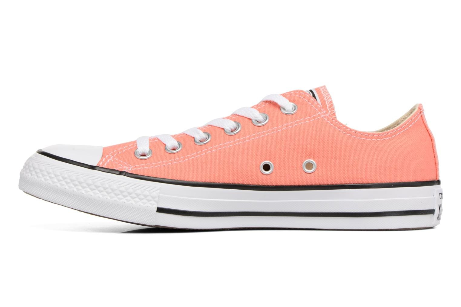 Baskets Converse Chuck Taylor All star Classic Rouge vue face