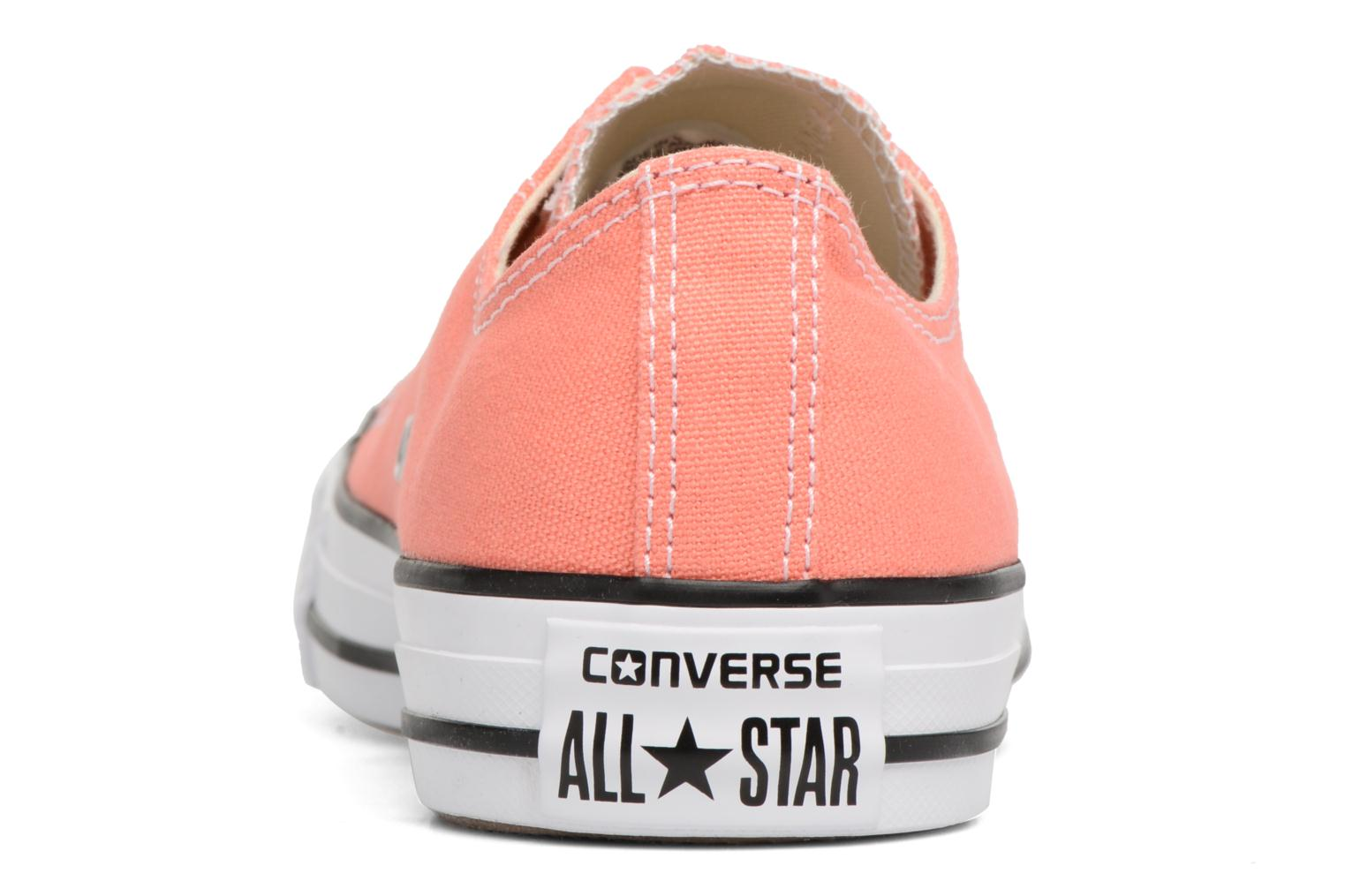 Baskets Converse Chuck Taylor All star Classic Rouge vue droite