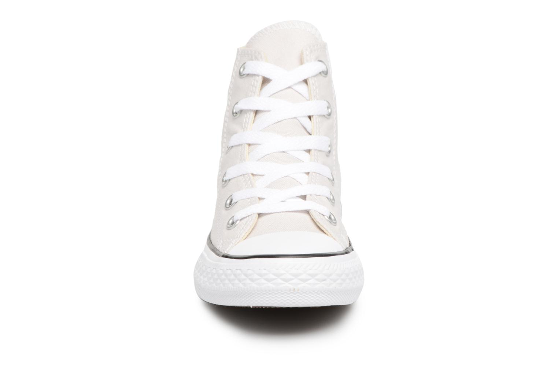 Baskets Converse CTAS HI Blanc vue portées chaussures
