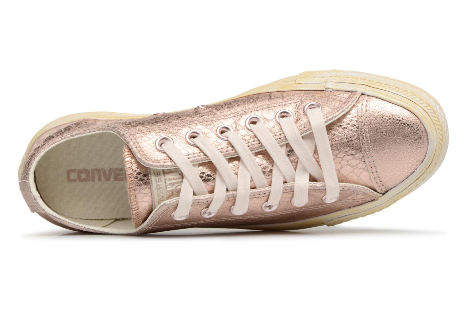Rose Gold/White Converse CT OX ROSE GOLD/WHITE (Or et bronze)