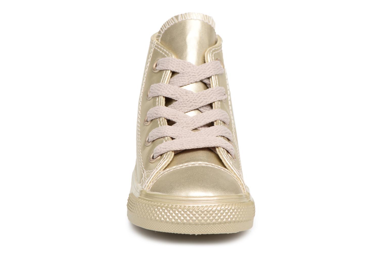 Sneaker Converse CTAS HI LIGHT gold/bronze schuhe getragen