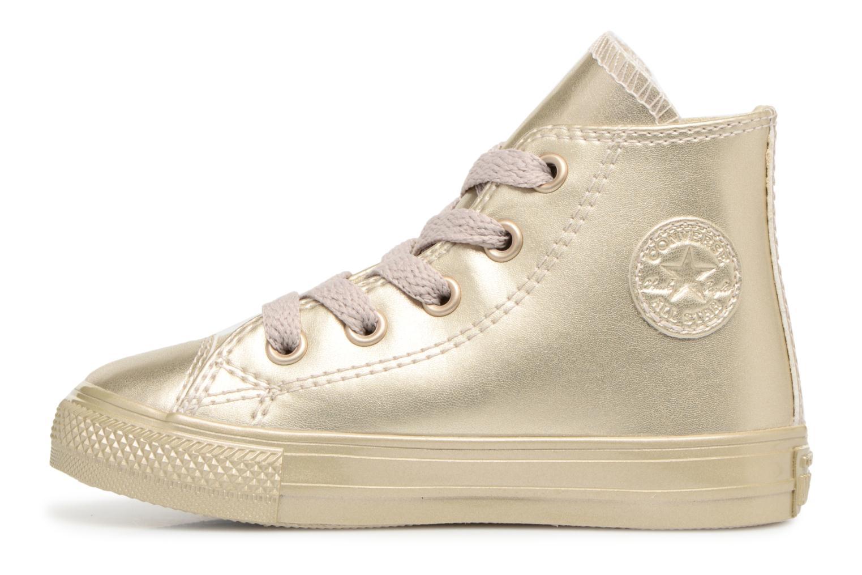 Sneaker Converse CTAS HI LIGHT gold/bronze ansicht von vorne