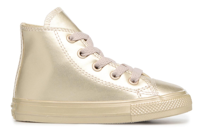 Sneaker Converse CTAS HI LIGHT gold/bronze ansicht von hinten