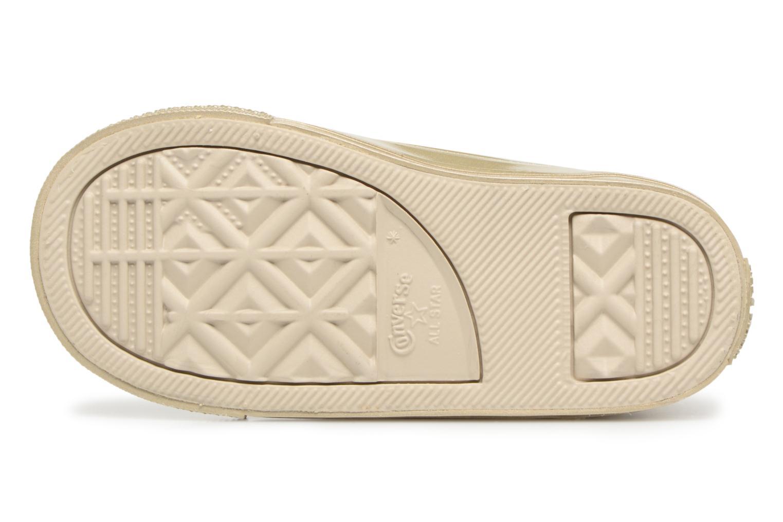 Sneaker Converse CTAS HI LIGHT gold/bronze ansicht von oben