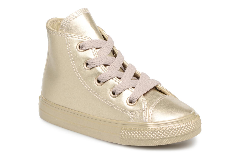 Sneaker Converse CTAS HI LIGHT gold/bronze detaillierte ansicht/modell