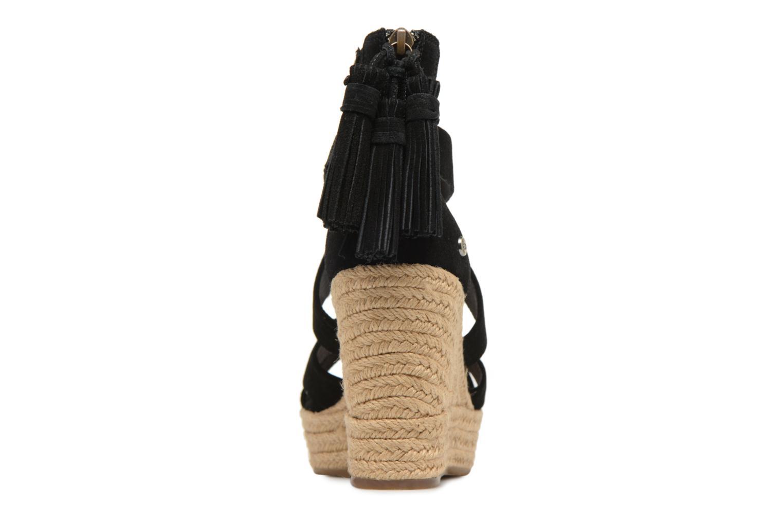 Sandales et nu-pieds UGG Raquel Noir vue droite