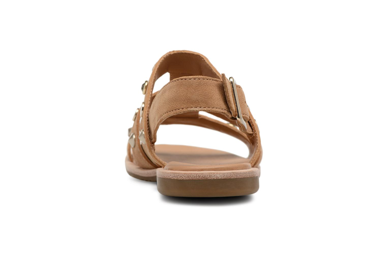 Sandales et nu-pieds UGG Zariah Studded Bling Marron vue droite