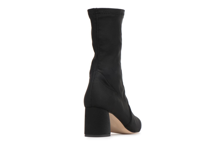 90's Girls Gang Boots #1 Satin Neoprenne Noir