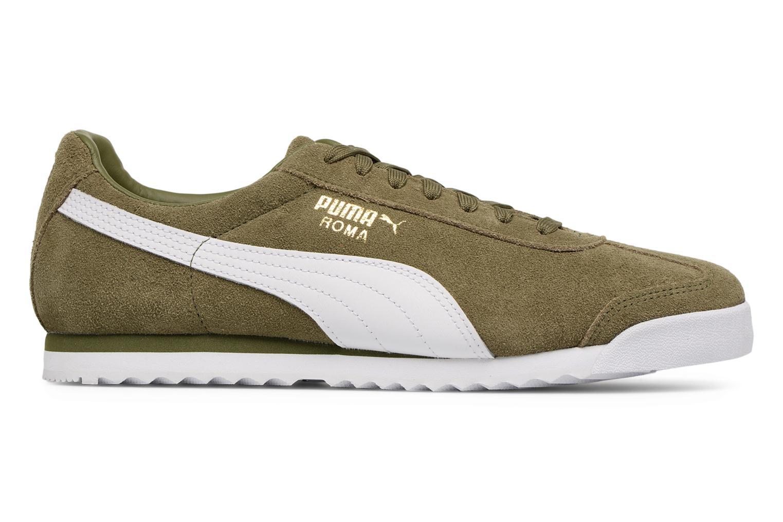 Puma Black-Puma White-Puma Team Gold- Puma Roma Suede (Noir)