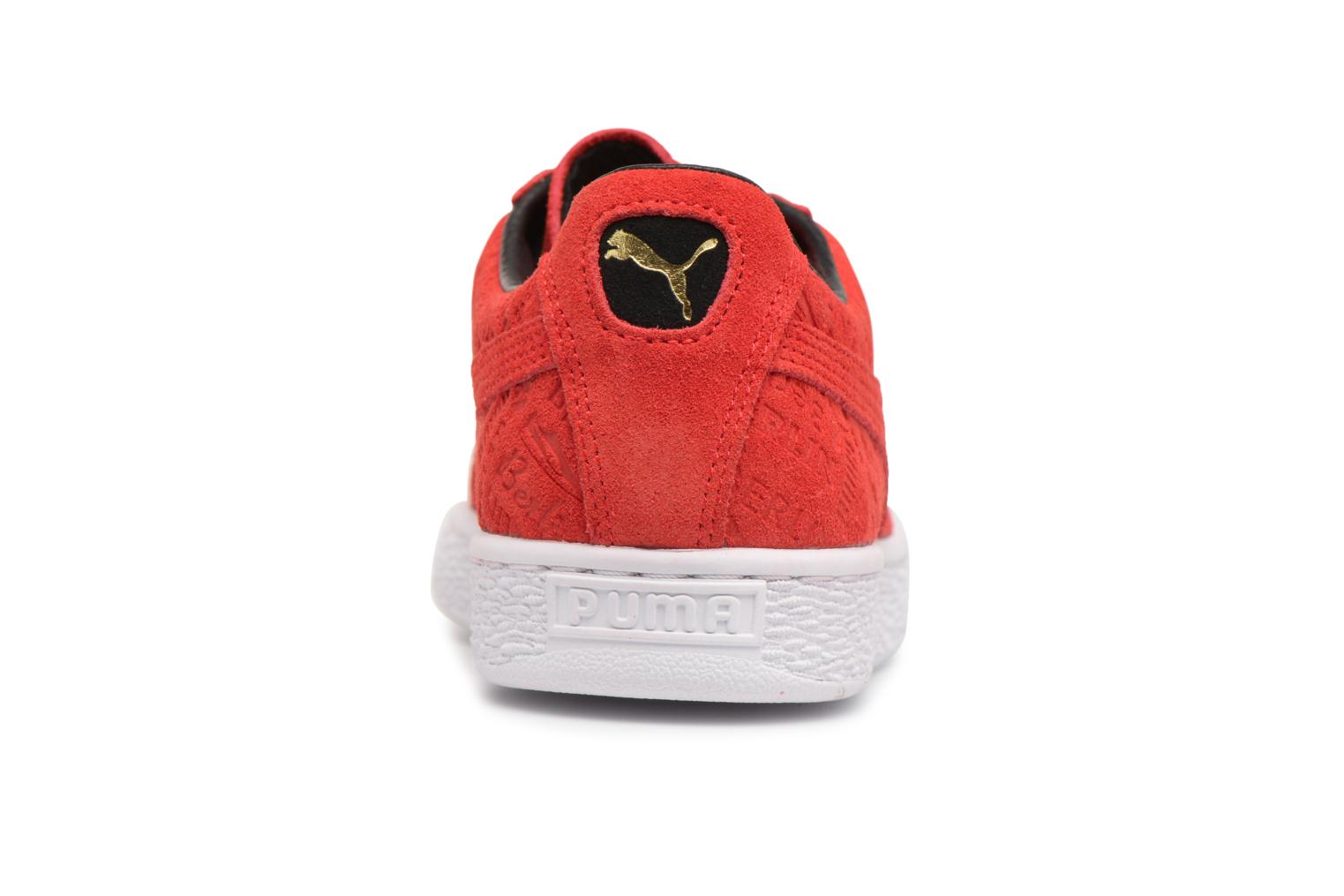 Flame Scarlet-Flame Scarlet Puma Suede Classic BERLIN (Rouge)