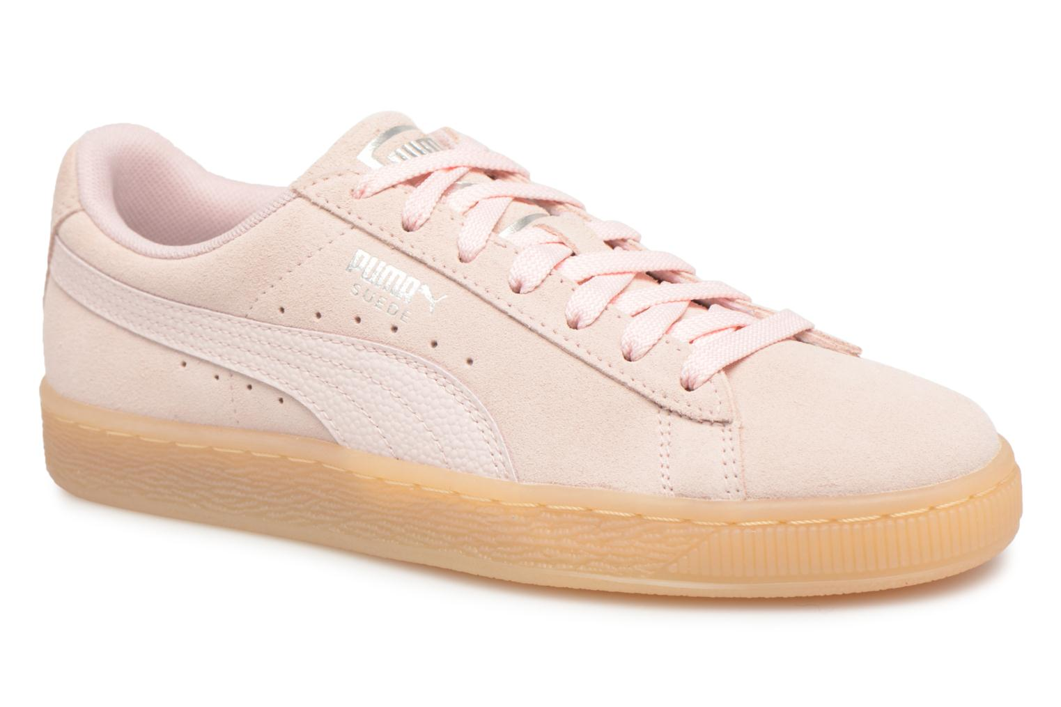 Marques Chaussure femme Puma femme Suede Classic Bubble Wn's Pearl