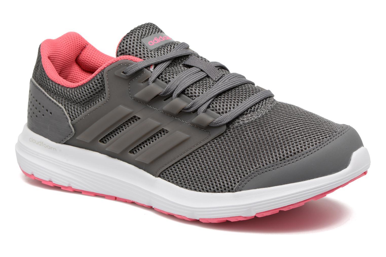 Chaussures de sport Adidas Performance Galaxy 4 Gris vue détail/paire